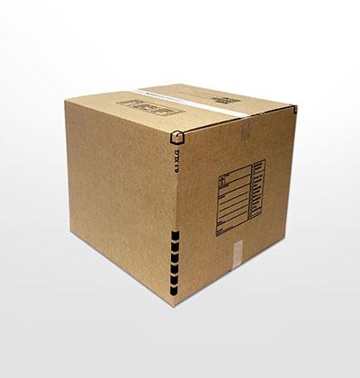 Extra large moving box sealed