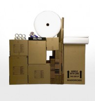 Deluxe 2 bedroom apartment moving kit