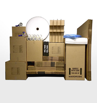 Deluxe 3 bedroom home moving kit