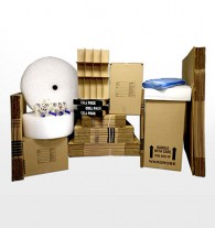 Deluxe 4 bedroom home moving kit