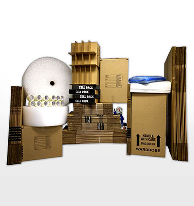Deluxe 5 bedroom home moving kit