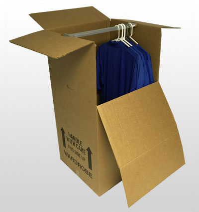 Wardrobe moving box, protect your clothes