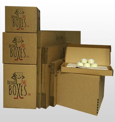 Basic 1 Bedroom Apartment Moving Kit Bring Me Boxes