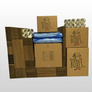 Basic 5 bedroom home moving supply kit