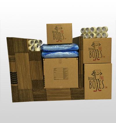 Basic 5 bedroom home moving supply kit