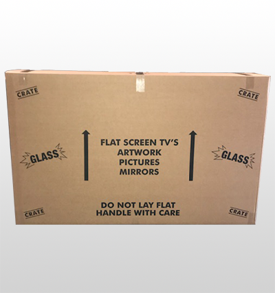Tv Box Holds Up To 65 Heavy Duty